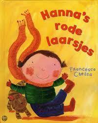 Prentenboek 'Hanna's rode laarsjes'