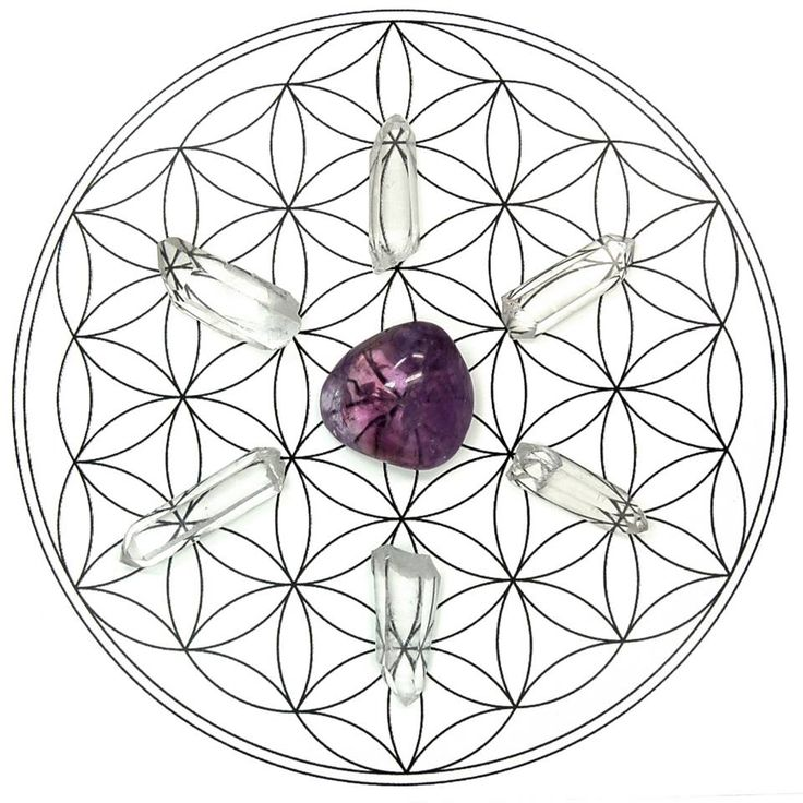 Best Crystal Grids Images On   Crystal Grid Healing
