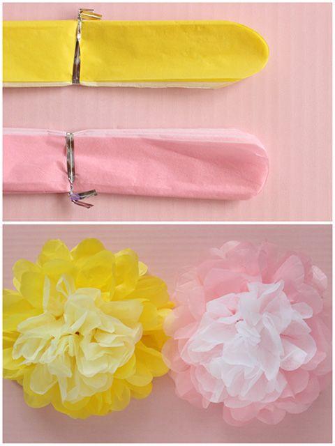 【お花紙】で作るお花、保育園や幼稚園時代からお馴染みですよね。あのお花紙で、実はここまで可愛いものも作れちゃいますよ♪