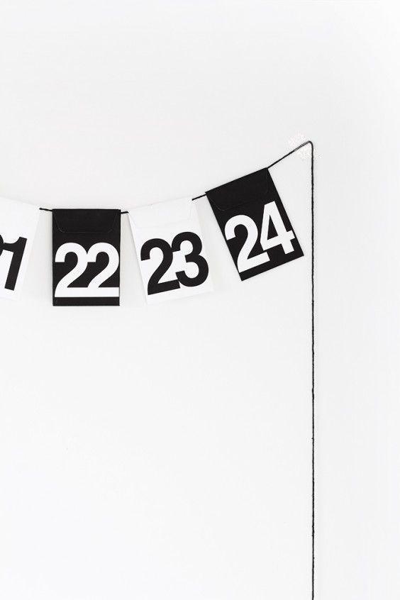 アドベントカレンダーへ作り替え