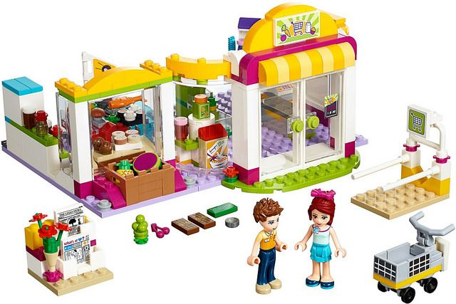 LEGO Friends 2016 | 41118 - Heartlake Supermarket #lego #legofriends #legofriends2016