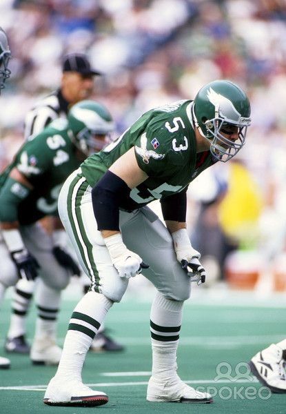 Bill Romanowski # 53 Philadelphia Eagles LB College:Boston College