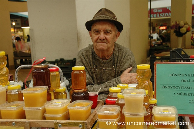 Honey Man, Lehal Market - Budapest, Hungary by uncorneredmarket, via Flickr
