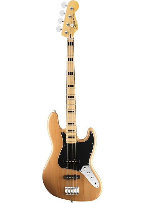 The Squier Vintage Modified Jazz Bass '70s returns you to a great period in  Jazz
