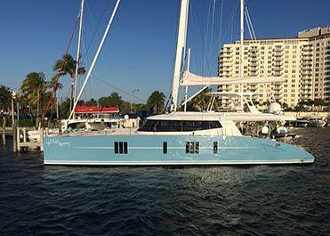 Sunreef 74 WildBerry Arrives in Florida After her Virgin Atlantic Crossing
