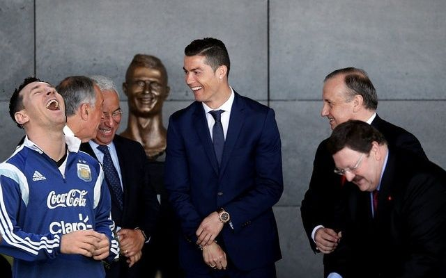 Cristiano Ronaldo Statue The Best Memes & Reactions. The very best memes of Cristiano Ronaldo's. Lionel Messi The World's Greatest-REACTION