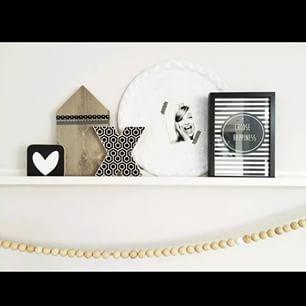#Woonketting - #Choosehappiness - #Zoedt - Buy it at www.vanmariel.nl