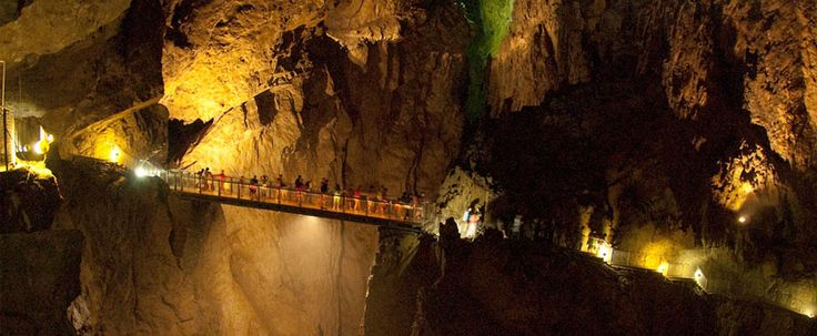A földalatti Grand Canyon - Škocjan-barlangrendszer   Underground Grand Canyon - Skocjan caves