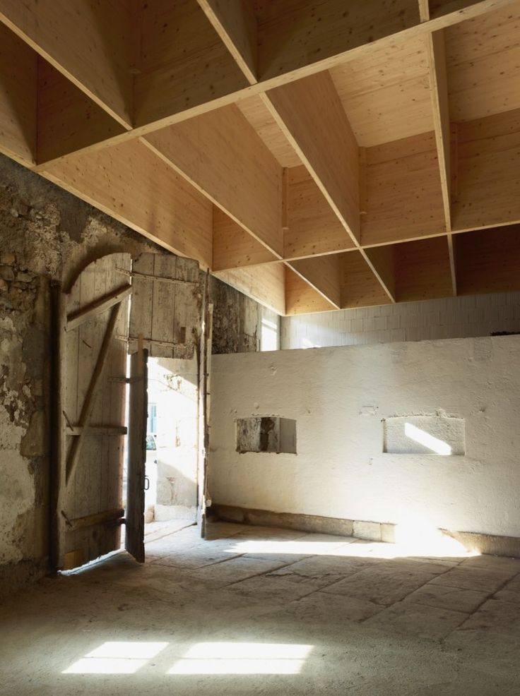 Studio in an Agricultural Building - Charles Pictet - Geneva, Switzerland