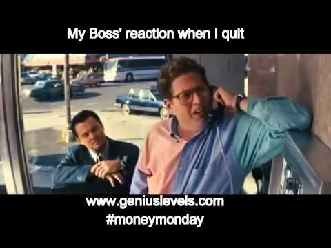 This is how my boss would react if I tried to quit my job... Vine