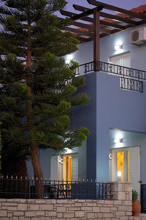 Rethymno villa rental - Building exterior!