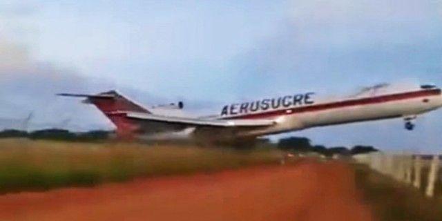 Vídeo mostra queda de avião logo após decolar em aeroporto da Colômbia