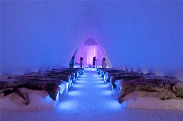 Would You Stay in an Ice Hotel?: The Ice Hotel in Hunderfossen, Norway