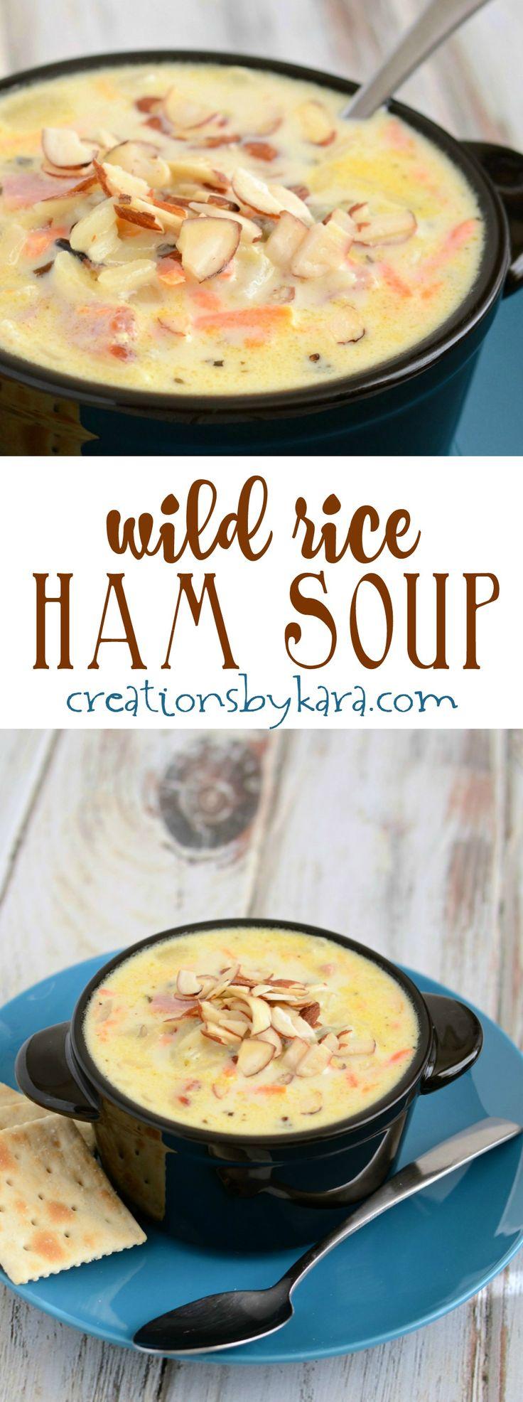 how to make ham soup