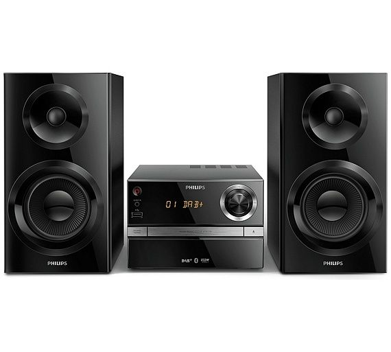 Buy Philips BTB2370 High Power Bluetooth HiFi Micro Music System at Argos.co.uk - Your Online Shop for Hi-fi systems, Home audio, Technology.