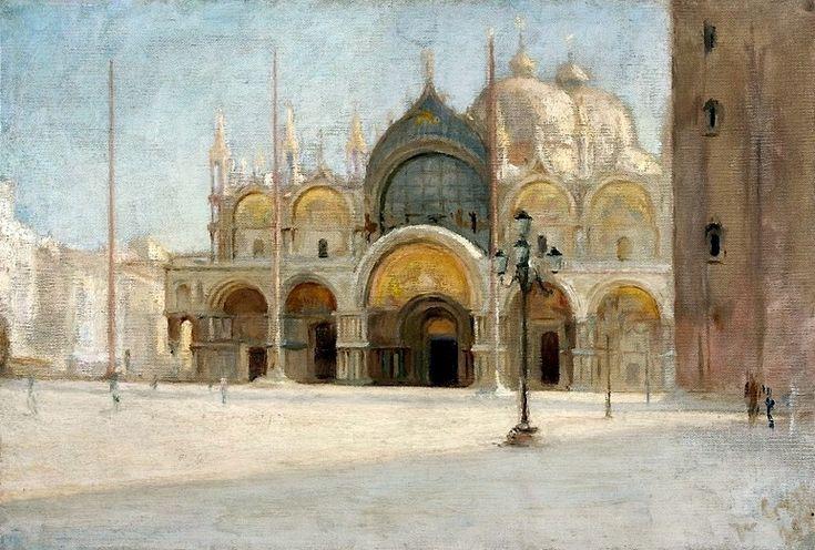 St. Mark's Square in Venice Jan Ciaglinski