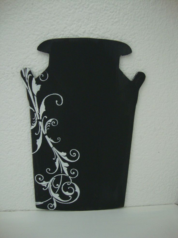 Decorative Milk Jar - Fridge Magnet - Black Chalk Board for important notes @ R85 each