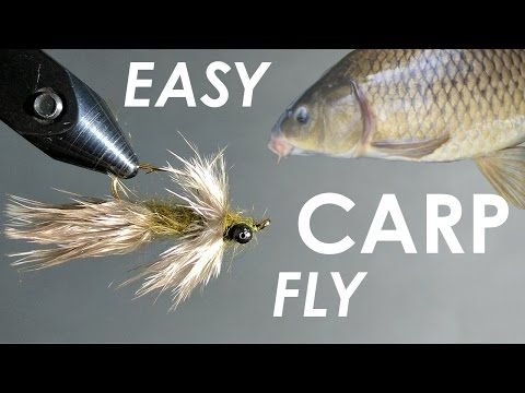 Tying an EASY & SIMPLE Carp Fly - (Step-by-Step) - YouTube