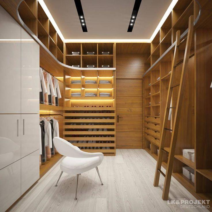 Las 25 mejores ideas sobre closets modernos en pinterest y for Cuarto con walking closet