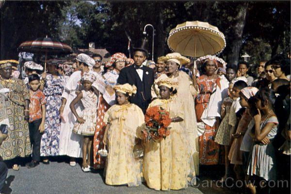 Wedding Dress About 50 Years Ago Paramaribo Suriname