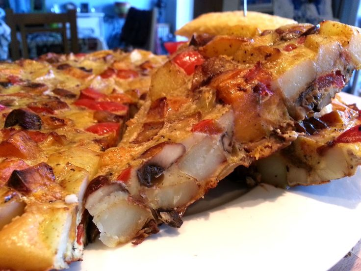Roasted Vegetable Tortilla