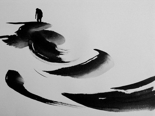 Chinese ink..
