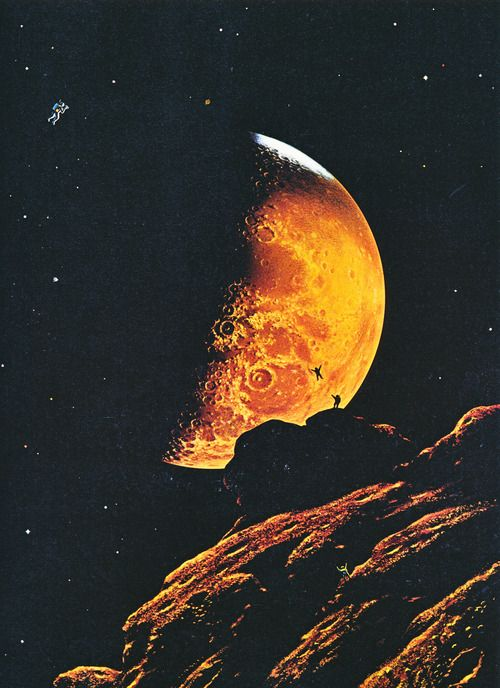 1000+ images about Vintage Space Art on Pinterest | The ...