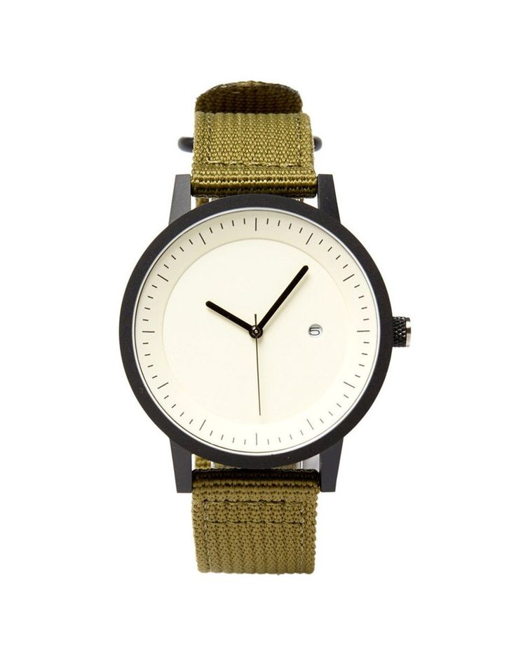 SIMPLE WATCH CO - Earl 42Mm - Olive/Nato