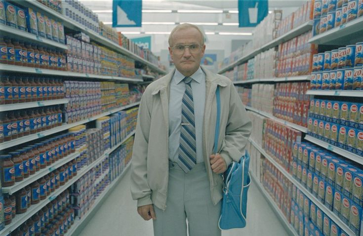 One Hour Photo (2002). I don't generally like Robin Williams, but I really loved this movie.