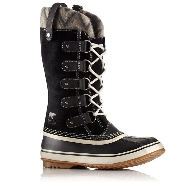 Characteristics of the Sorel Women\'s Joan Of Arctic Knit II Boot Upper:  Waterproof suede leather Knit cuff Seam-sealed waterproof construction  Insulation: