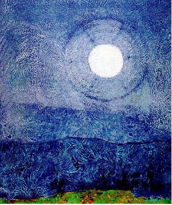 Max Ernst, Forest and Sun, graphite frottage on paper, 1931
