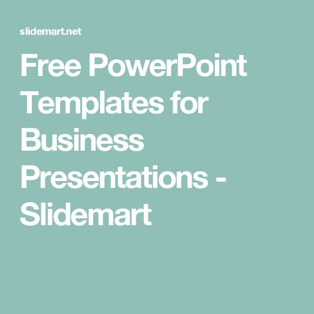 Free PowerPoint Templates for Business Presentations - Slidemart