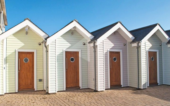 Shaldon Beach Huts, Devon