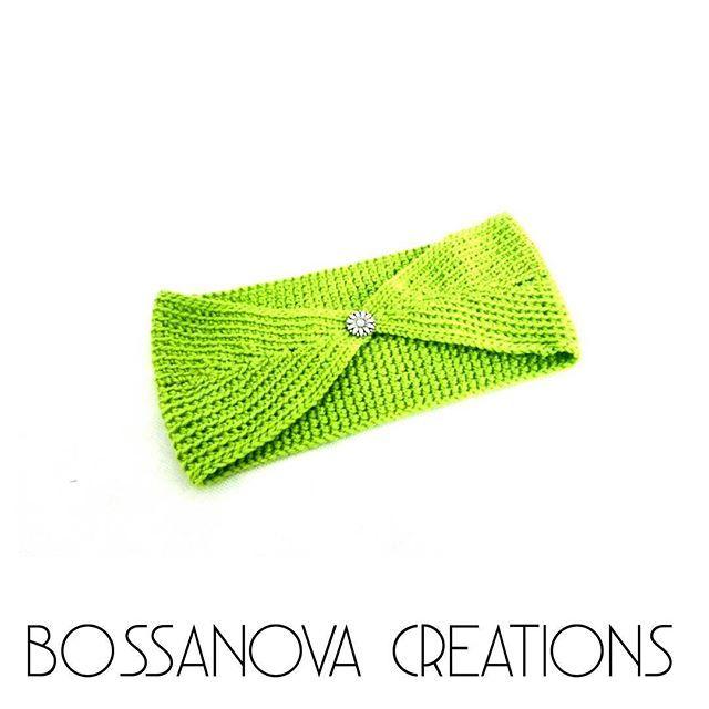 #bossanovacreations #headband #crochet #crochetaddict #crocheting #picoftheday #photooftheday #loveit #green #knittersofinstagram #knitting #knit #ganchillo #ganchilloterapia #yarnlove #yarn #handmade #hechoamano #fashion