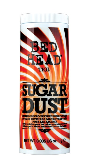 Amazing volume product - TIGI's Sugar Dust. Great for big hair party styling