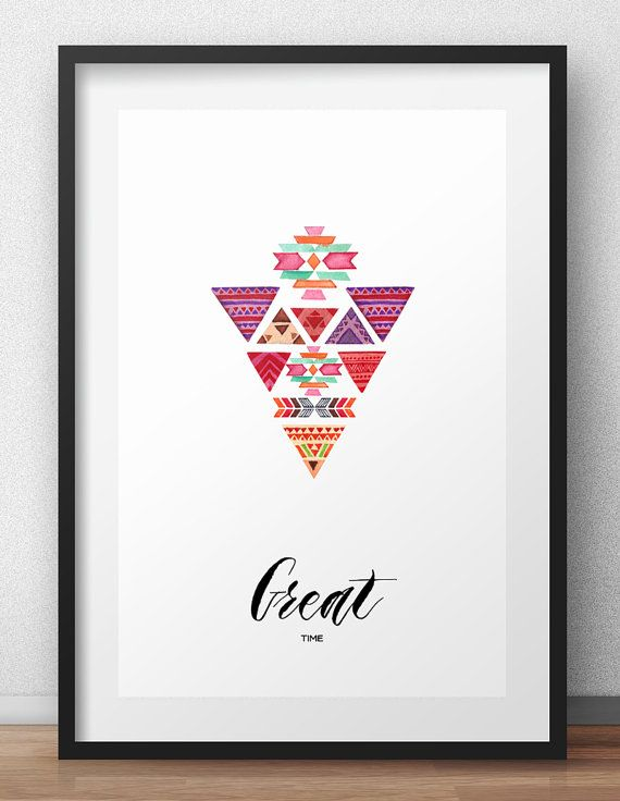 Great Time Digital Print Wall art Art & Collectibles by HappyNews