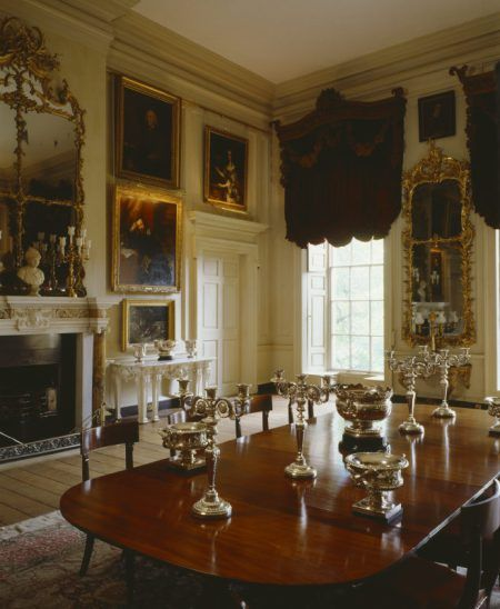 Kennedy Manor Dining Room: Front Rooms, Drawing Rooms And Libraries