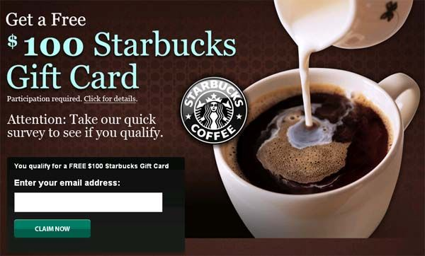 100$ Starbucks Gift Card! Get yours now!  http://winningstreakus.tumblr.com/post/68142322847/would-you-like-to-make-a-gift-but-you