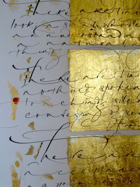 This is so beautiful with the gold leaf. Have no idea what it could be used for...but good to keep around. Never know.