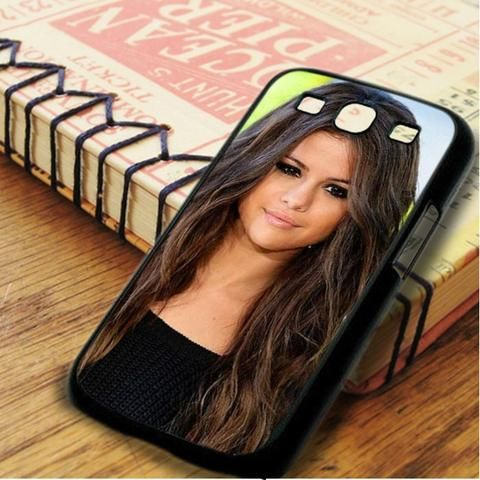 Selena Gomez Full Face Samsung Galaxy S3 Case