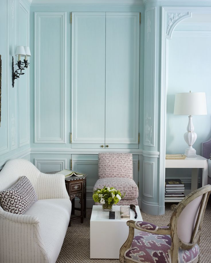 Robin's Egg blue Walls Glorious architectural walls