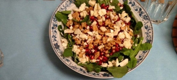 Narlı Roka Salatası