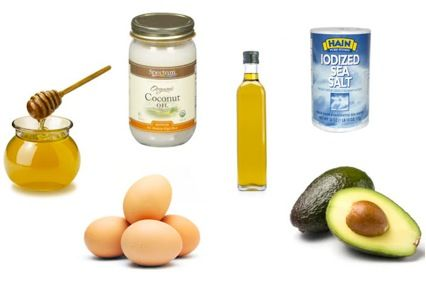 Natural Hair Care Products From Your Kitchen. Click on link to see mask recipes: http://fitlife.tv/natural-hair-care-products-from-your-kitchen/