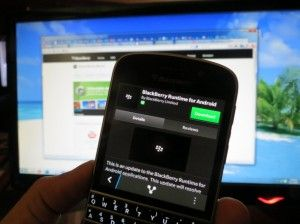 BlackBerry Android Runtime available for download in BlackBerry World
