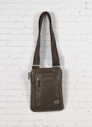Tracolla pelle uomo Nava c/Porta iPad - Leather shoulder bag for iPad http://www.lodishop.com/negozio/pelletteria-gajardi/ #bag #tablet #ipad #lodi #italy