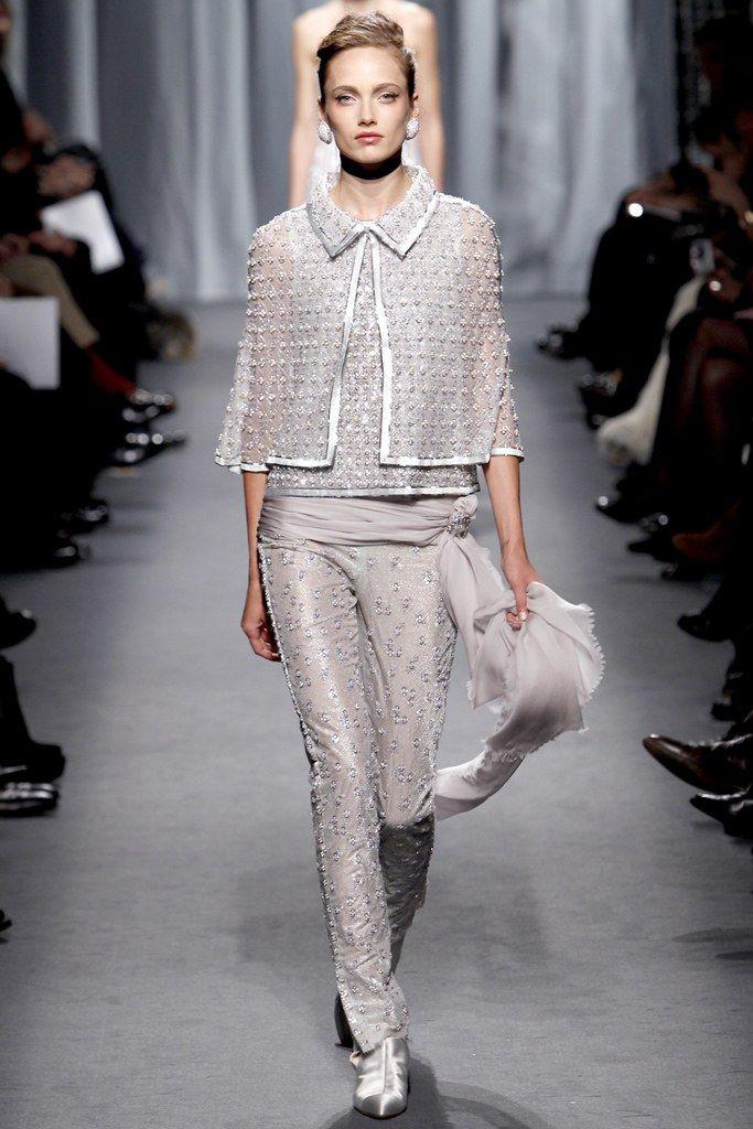 Chanel Spring 2011 Couture Fashion Show - Karmen Pedaru (IMG)