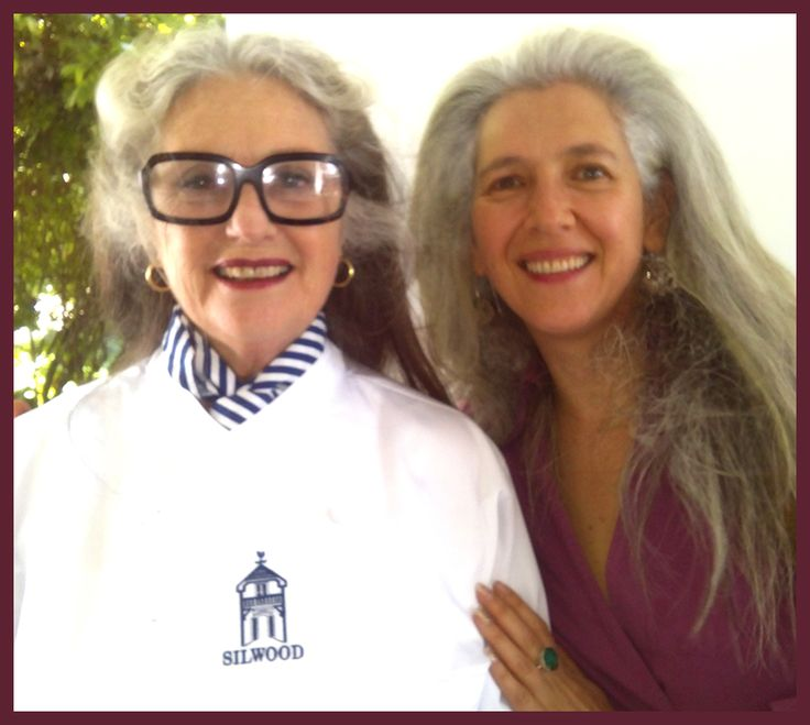 Silwood 50th Birthday and Book Launch. Alicia Wilkinson poses with me in her bespoke Chef Jacket with covered buttons  - A very special Jacket for a very special Lady !! CONGRATULATIONS ON YOUR 50TH ANNIVERSARY AND STUNNING BOOK ALICIA.