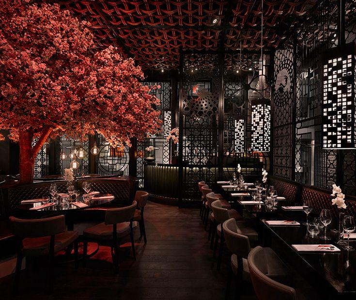Modern Chinese Interior Design: 17 Best Ideas About Chinese Restaurant On Pinterest
