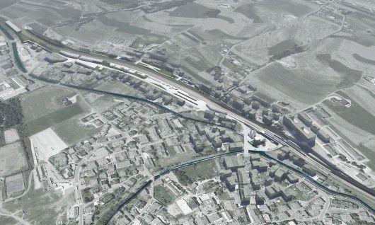 PLASMA Studio and Groundlab Win Competition to Relocate and Enhance Italian Railway Station - INTERMODAL DE PEQ ESCALA!