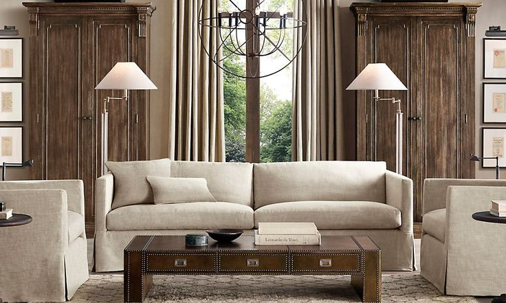 French Column Glass Swing Arm Floor Lamp Polished Nickel | Interiors    Family Room | Pinterest | Restoration Hardware, Restoration And Hardware